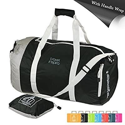 Travel Inspira Foldable Travel Luggage Duffle Bag Lightweight for Sports, Gym, Holiday and Travel Duffel Bags (7 Color Options Available) - low-cost UK light store.