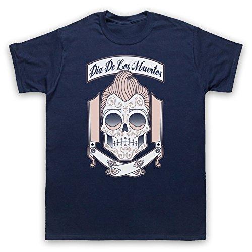 Dia De Los Muertos Mexican Day Of The Dead Herren T-Shirt Ultramarinblau
