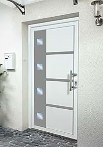 KM MEETH ZAUN GMBH Kunststoff-Haustür BxH: 108 x 208 cm, weiß rechts, weiß