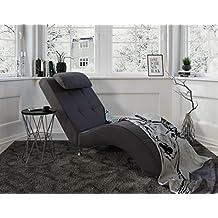 MyHomery Relaxliege Tanja   Liege Zum Entspannen   Relaxsessel Fürs  Wohnzimmer   Moderne Recamiere Mit Stoff