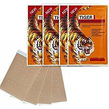 Balsam des Tigers Patch (Tiger Balm), A & M Fitness, Patches Anti Schmerz Recovery echtes reméde Chinesisch, ideal für Nackenschmerzen, Nacken, Schulter, Gelenke, Muskelkater...