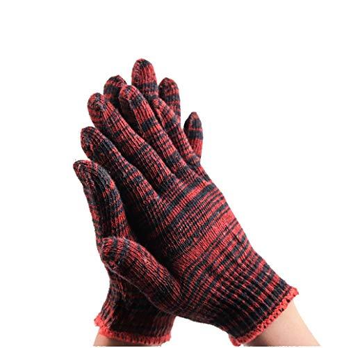 SSSTDUANJY Industrielle Handschuhe, Armbänder, Rutschfest, Hitzebeständig, Hochtemperatur-Chemiefaser, Verschleißfest, Geeignet Für Den Außenbereich, BAU, Küche, Ofen