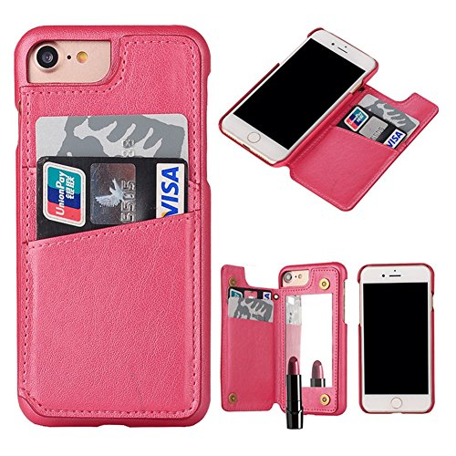Case per iPhone 6 Card ,Cover per iPhone 6, Bonice Vintage Synthetic Leather Wallet Ultra Slim Professional Executive Snap On Cover with 2 Card Holder Slots Case Cover per iPhone 6/6S (4.7 pollici) +  Modello 06