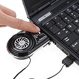 Mini aspirateur USB LED bleue d'extraction d'air Refroidisseur ventilateur de refroidissement pour PC portable