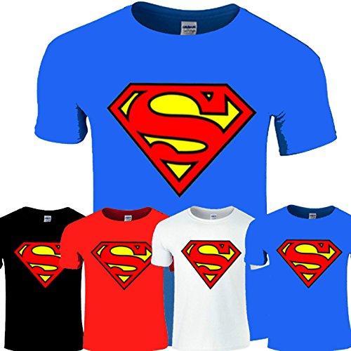 New Superman t-shirt unisex maglietta caldo 7colori S-XXL gallina, addio al celibato funzioni NAVY BLUE M