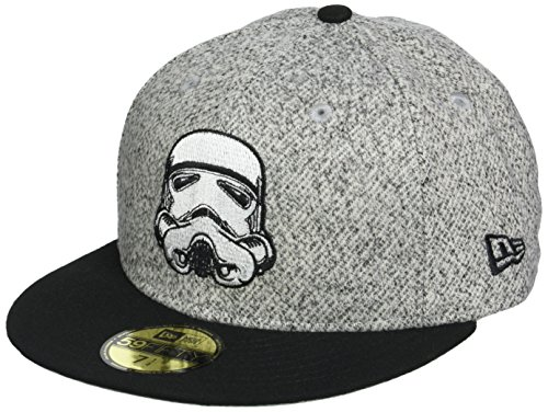 0f62f423 New Era Hommes 59FIFTY Fitted Storm Trooper Star Wars Casquette Gris 7 14 -  57,7cm (M)