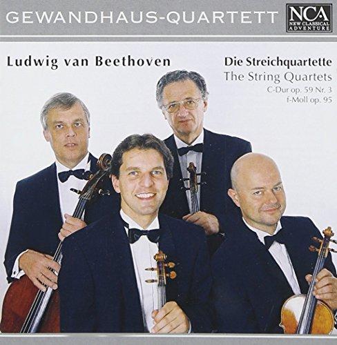 Streichquartette C-Dur Op. 59 nr. 3 / F-Moll Op. 95