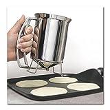 Pancake Batter Dispenser Stainless Steel...