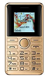 I KALL K27 Bluetooth Card Phone With Pedometer Feature - Golden