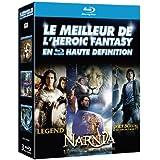 Le Meilleur de l'Heroic Fantasy en haute définition : Legend + Le Monde de Narnia - Chapitre 3 : L'odyssée du Passeur d'Aurore + Percy Jackson - Le Voleur de Foudre