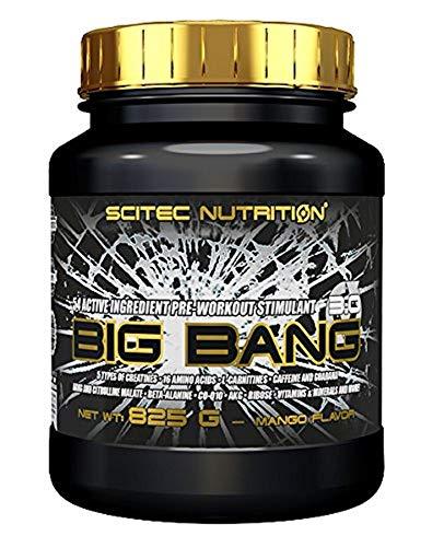 Scitec Nutrition Pre-workout  Big Bang 3.0 Mango, 825g -