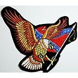 Águila bandera de Estados Unidos parches bordados gratis en vivo gratis hierro en remiendo style04