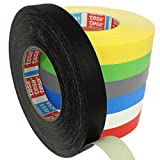 Tesa 4651 Premium Gewebeband verschiedene Breiten und Farben wählbar / schwarz 19 mm x 50 m
