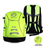 Best Cycling Backpacks - Optimum Nitebrite Cycling Backpack, Fluro Green, One Size Review