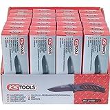 KS Tools 907.2105D Klappmesser-Display mit Arretierung und Tasche, mit Teflonbeschichtung, 24-tlg.