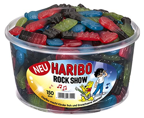 Preisvergleich Produktbild Haribo Rock Show,  2er Pack (2 x 1.2 kg)
