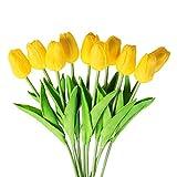 Un bonito ramo de flores para añadir un bonito toque a una habitación. Atención: El jarrón u otros accesorios no están incluidos. Solo las flores artificiales. Debido a algunos factores, los colores de los artículos reales serán un poco difer...
