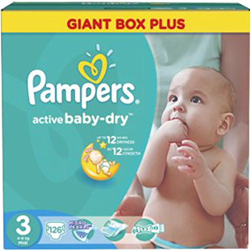 Pampers Active Baby Dry Windeln Midi