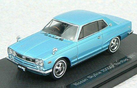 Gt Hardtop (EBRRO 1/43 Nissan Skyline GT hardtop KGC10 (43969) (japan import))