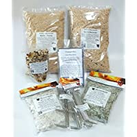 Meersalz Gewürze räucherhaken, Fischgewürz Premium-räucherlauge Pikant 450g