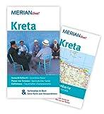 MERIAN live! Reiseführer Kreta: Mit Kartenatlas im Buch und Extra-Karte zum Herausnehmen - Klaus Bötig