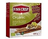 Finn Crisp Biscote Pan Organic - 200 g (paquete de 9)