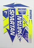 #5: Spartan MSD 7 Limited Edition Cricket Bat Sticker