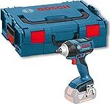 Bosch Professional GDS 18V-EC 250 Akku-Drehschlagschrauber maximal 250 Nm Drehmoment im harten Schraubfall, Solo Version, L-BOXX, 1 Stück, 06019D8101