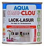 AQUA COMBI-CLOU Lack-Lasur rot 0,375 L