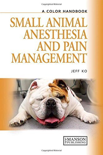 Small Animal Anesthesia and Pain Management: A Color Handbook (Veterinary Color Handbook Series) by Ko, Jeff (2012) Hardcover