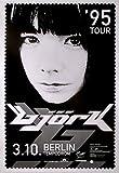 BJÖRK - 1995 - Konzertplakat - In Concert - Post - Tourposter - Berlin