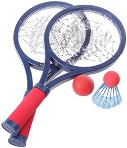 MT Creaciones MTSP1394618 Spiderman Tenis y la Raqueta de bádminton Importado de Inglaterra