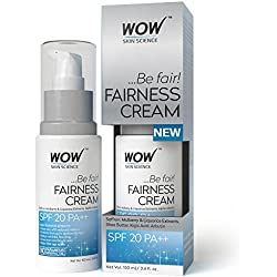 Wow Fairness Cream Spf 20 Pa++ 100Ml