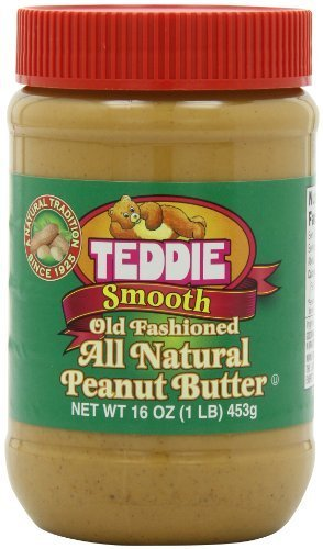 Teddie All Natural Peanut Butter Smooth, 453g