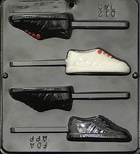 Sneaker Lollipop Chocolate Candy Mold 210 by Lollipops