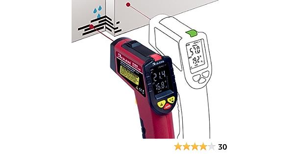 Kaleas Infrarot Klimadetector Schimmelwarner Taupunktmesser 34030 Gewerbe Industrie Wissenschaft