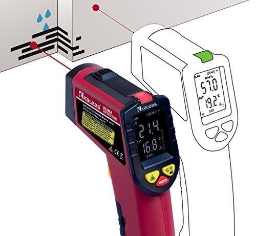 Kaleas Infrarot KlimaDetector Schimmelwarner Taupunktmesser (34030)