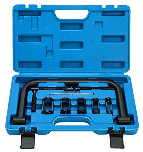 FreeTec Ventilfederspanner Ventilfederpresse Ventilfeder Ventil Montage Werkzeug Satz