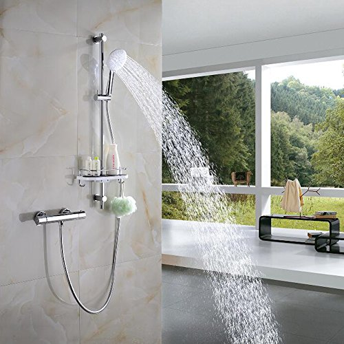 S R Sunrise Shower Thermostat Shower System Srss 886 Bathroom Mixer