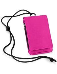 Pochette - Étui multifonction pour iPhone / Smartphone (Rose Fuschia)