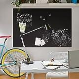 Magnetfolie - Blackboard selbstklebend - Arbeitszimmer, Magnettafel, Tafelfolie magnetisch, Wandtafel, Klebefolie, Dekofolie