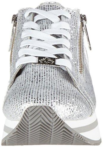 Fornarina Damen Tina Sneaker Silber (Silver)