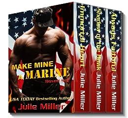 Make Mine A Marine by [Miller, Julie]