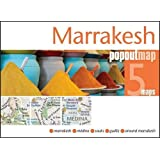 Marrakesh Popout Map - handy pocket size pop-up city map of Marrakesh (Popout Maps)