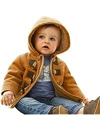 CHIC-CHIC-Manteau Duffel-coat Hiver pour Bébé Garçon Fille à Capuche Blouson Epaisse Chaud Hoodies