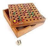 Logica Giochi art. SCALE E SERPENTI - scatola in legno Teak
