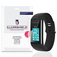 iLLumiShield - Polar A360 Screen Protector Japanese Ultra Clear HD Film with Anti-Bubble and Anti-Fingerprint - High Quality Invisible Shield - Lifetime Warranty - [3-Pack]