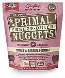 Primal Freeze Dried Turkey & Sardine Dog Food (14 oz)
