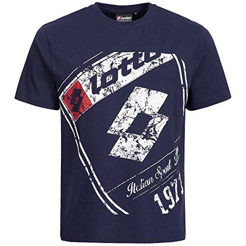 lotto-t-shirt-da-uomo-classic-sport-italia-mitak-logo-tee-mix-fw15lelm021-navy-l
