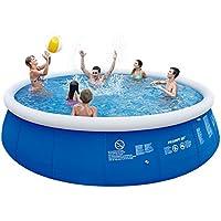Jilong jl016085nd–P29Quick Up Pool Set con pompa filtrante e cartuccia, scala, telo pavimento e, 540x 122cm, colore: blu Navy